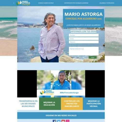 Mario Astorga Concejal